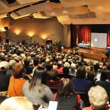 Crowd of over 1100 gather at Manual Technical Center for 2017 Town Hall on Immigration